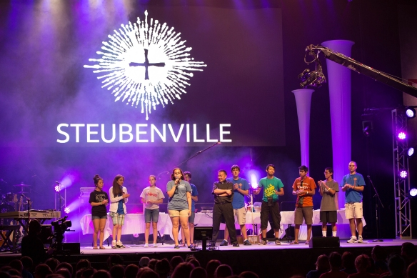 Photo courtesy of Steubenville conferences